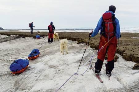 NYTT BLIKK: New Land-ekspedisjonen satte klimaendringene i perspektiv for kronikkforfatteren. Foto: Tobias Thorleifsson