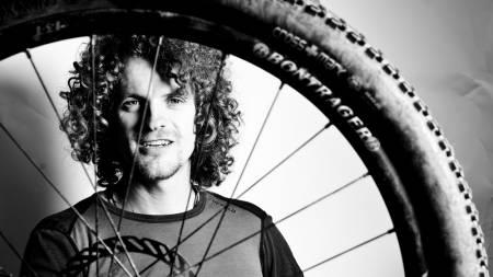 SYKKEL I SANDEN: I vinter skal Aleksander Gamme sykle 3500 kilometer gjennom Sahara. Foto: Christian Nerdrum