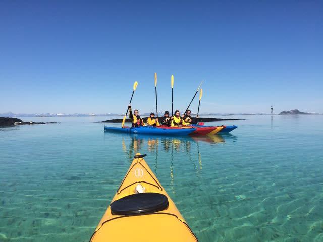 PADLEKLAR: Dette kan du også oppleve i sommer. Foto Randi Skaug