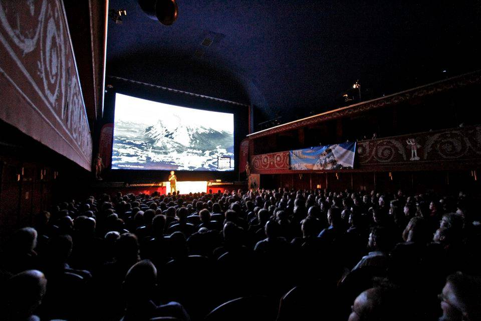 Fra Banff i Stockholm. Foto: Banff Mountain Film Festival