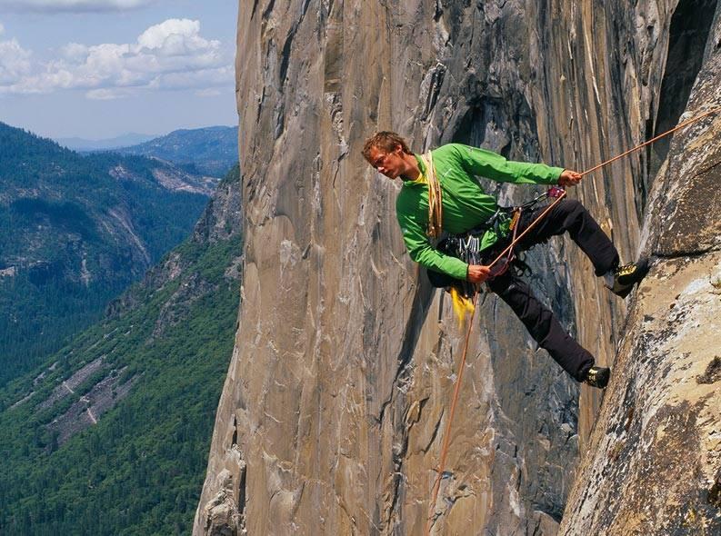 Leo Houlding er en populær foredragsholder - og dyktig klatrer! Foto: Leohoulding.com