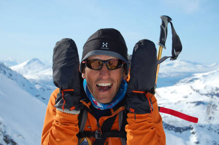 Espen Nordahls bok Toppturer i Troms er nominert i Banff Mountain Book Competition. Foto: utemagasinet.no/friflyt
