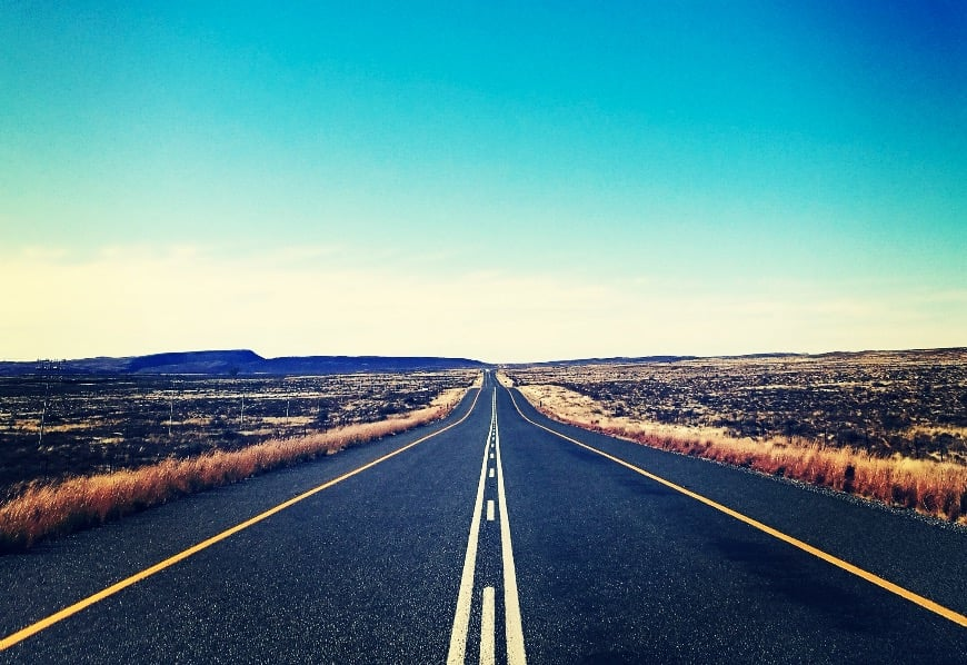 FRA SØR TIL NORD: Den lange veien hjem. Foto: Teresie Hommersand