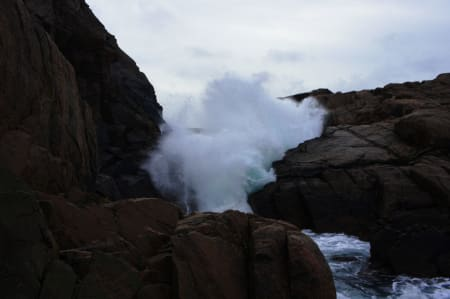 Havet byr på stadige maktdemonstrasjoner