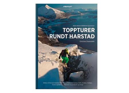 TOPPTURBOK FOR HARSTAD: Nå har også Harstad fått sin egen plass i Fri Flyts Topptur-serie. Boka er skrevet av Christian Dramsdahl.