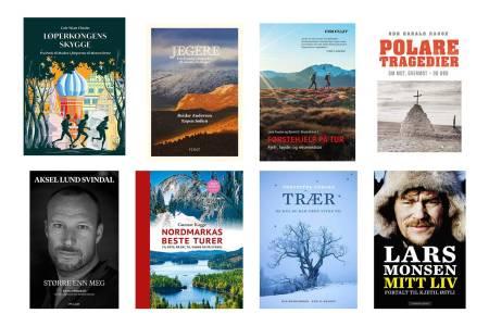 BOKHØSTEN 2019: UTE-redaksjonen har plukket ut noen av høstens bøker for friluftsinteresserte.