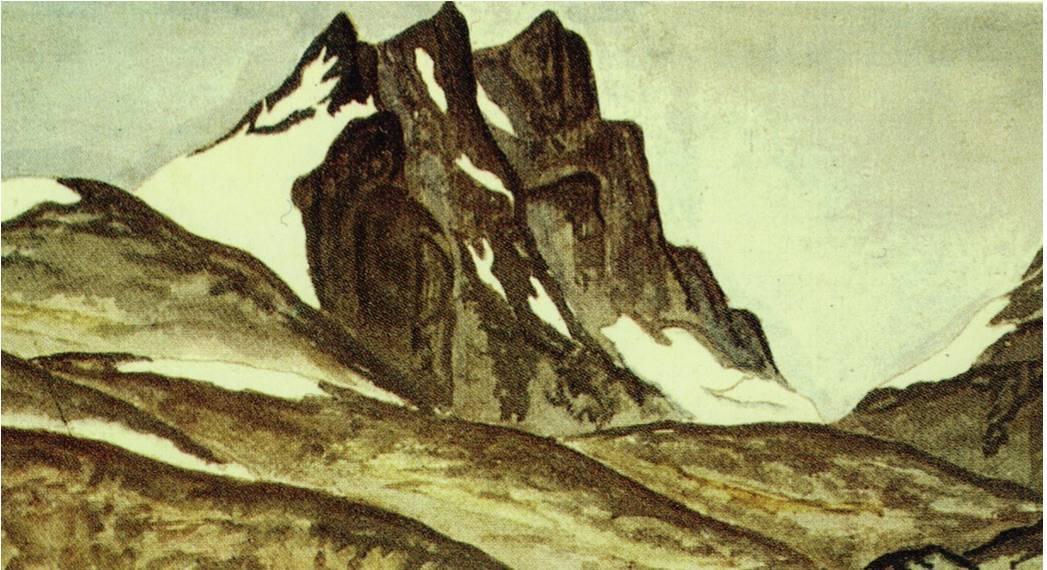 Skagastølstindane maleri