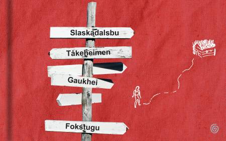 HYTTEBOK FRÅ HELVETE: Are Kalvø sitt forsøk på å forstå kvifor han har tapt sine vener til naturen.