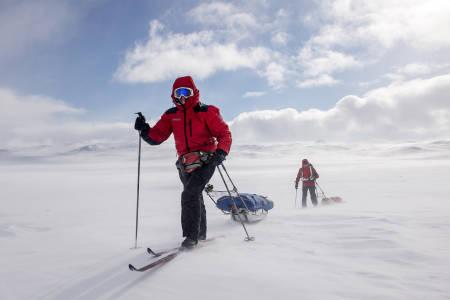 10. UTGAVE AV EXA: Ruta deltagerne går er den samme Roald Amundsen gikk i 1896, som en forberedelse til Sydpolekspedisjonen i 1911. Foto:  Kai-Otto Melau/Xtremeidfjord