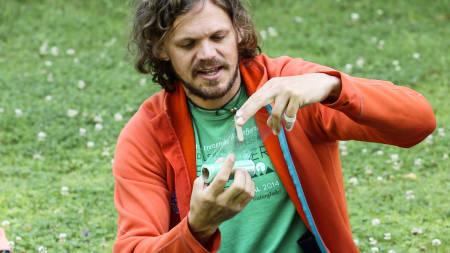 førstehjelp, fjellmedisin, turlege Erling Rosenstrøm, ekspedisjonsskolen, Foto:Christian Nerdrum