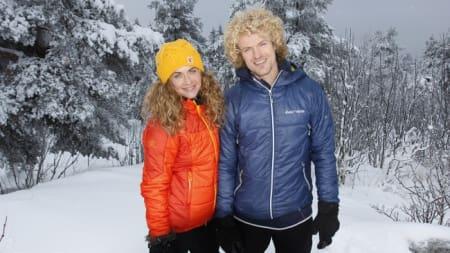 Cecilie Skog og Aleksander Gamme tar deg med på tur! Foto: ut.no