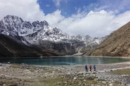 Nepal tur foto korona ekspedisjon hvitserk