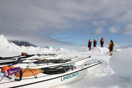 padleekspedisjon nordaustlandet rundt sigrid henjum