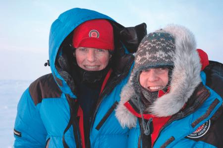Ekspedisjonsstart i motbakke for Liv Arnesen og Ann Bancroft.