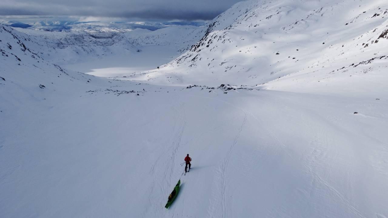 Troms på langs