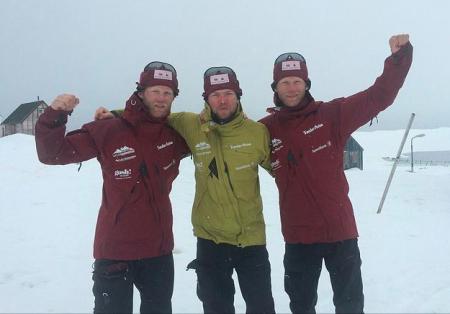 Ole Christian Kjenstad, Ronny Andre Kjenstad, Vegard Jørstad.