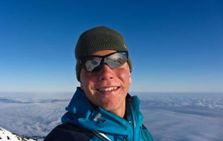 Yngstemann til å bestige alle 2000-meterne.