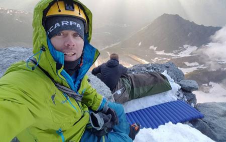 Første skandinav på alle 4000-meterne i Alpene.