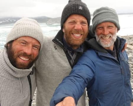 Seiltur med historisk drag over Grønlandsisen.