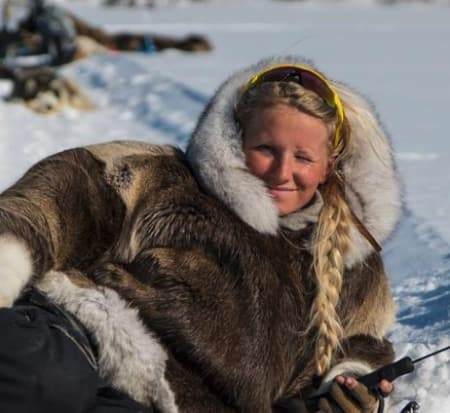 Tonje Blomseth levde som pelsjeger i Yukon.