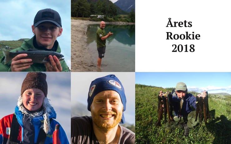 1. Emil Offerdal Johansen 2. Jan Bang Henningsen 3. Håkon Vang Aas 4. Karen Malena Kyllesø 5. William Byholt
