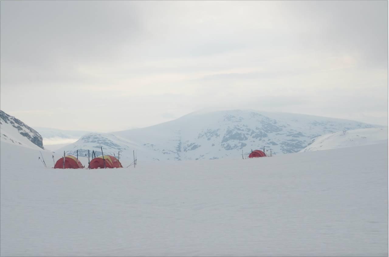 fjellskitur  i norge josten
