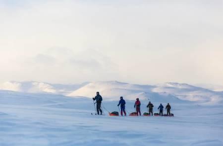 fjellski fjellskitur