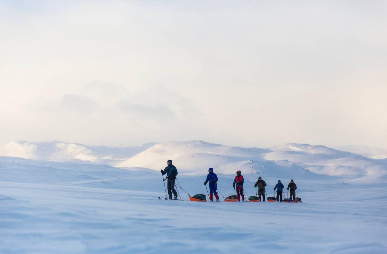fjellskitur langs hallingskarvet finse geilo