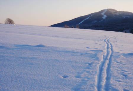 ALLE RETTIGHETER: Vidstrakte flater, med utsikt mot Varingskollen skisenter. Foto: Pål-Trygve Gamme