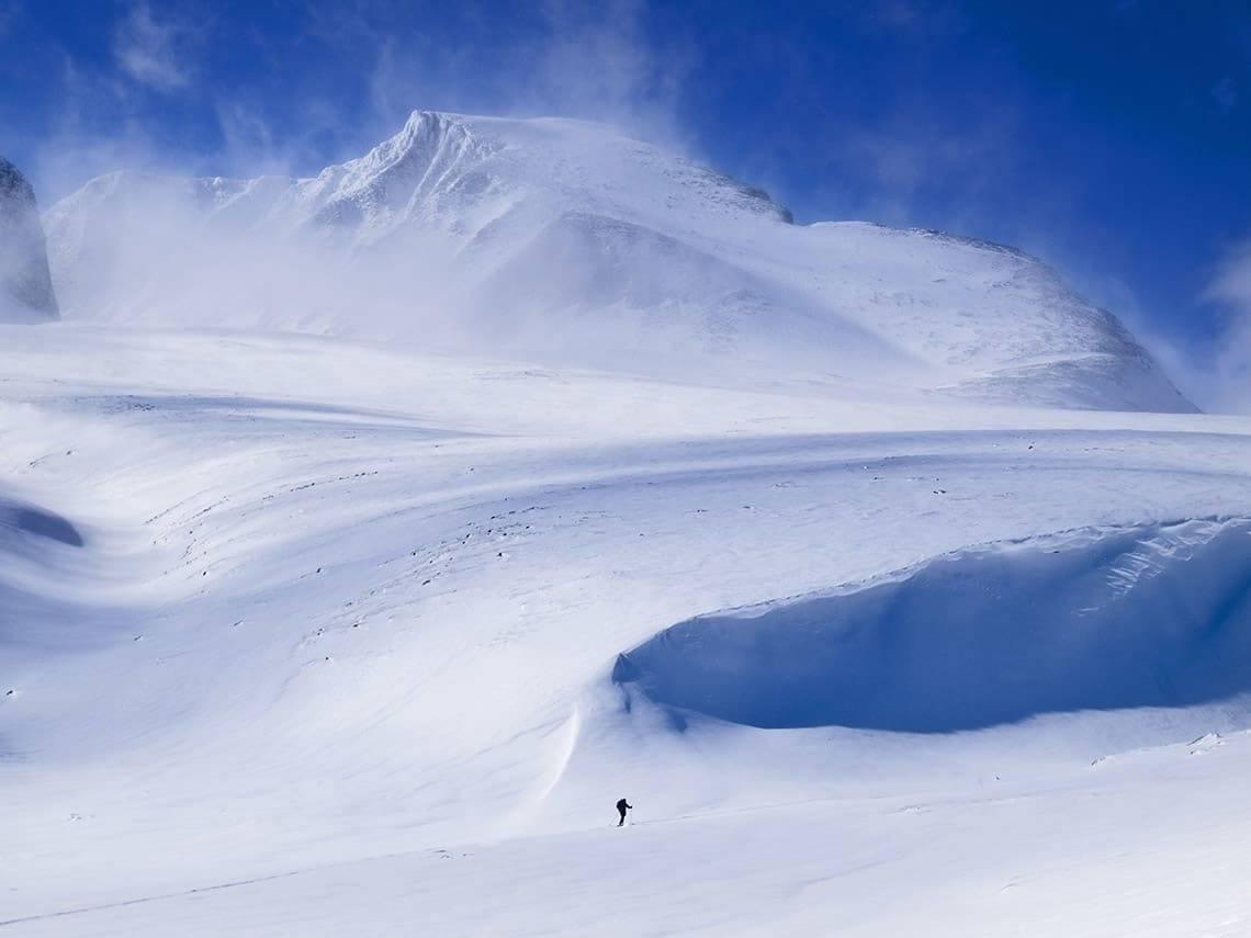 FJELLSKITUR: Rondane står øverst på lista til mange i vårskisesongen. Geoiff Schulz