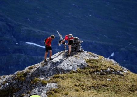Meråker i Nord-Trøndelag har 26 fjelltopper på over 1000 moh. Det byr på perfekte forhold for fjellsport og fine naturopplevelser. Foto: Meråker Mountain Challenge