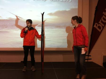 Fjellsportprisen 2012 til Erlend Sande. Foto: Ida Sørbye