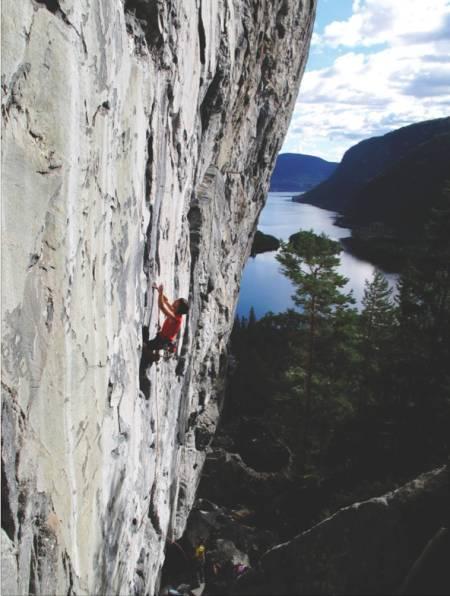 Raskt til start: Sørlandet byr på over 50 tilgjengelige klatrefelt. Foto: Linett Eriksen Birkeland