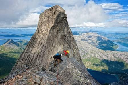 stetind, fjelltur