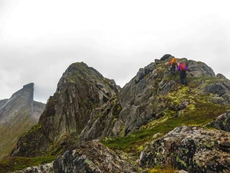 Nordskot-traversen gir deg en luftig følelse! Foto: Endre Myrdal Olsen