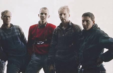 DET NORSKE LAGET: Fra venstre: Jon Teigland, Odd Eliassen, Ole Daniel Enersen og Leif Norman Patterson. Foto: Leif Norman Patterson