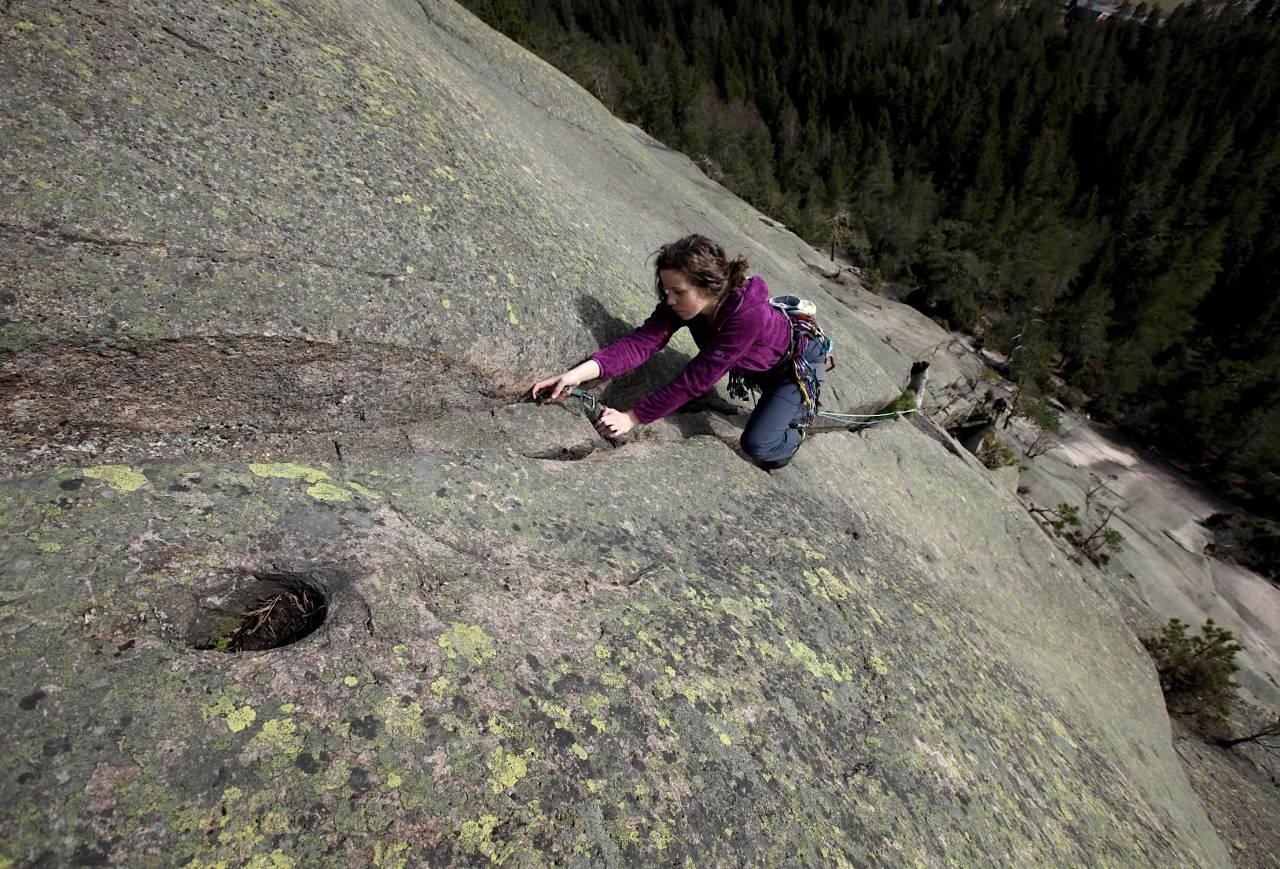 klatring på Vardåsen