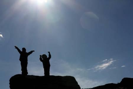 fjelltur  til almannberget oppdal