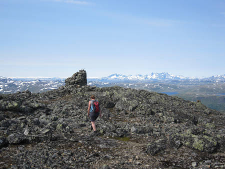 Tyin fjelltur vang i Valdres