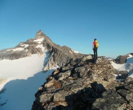 HØYEST: Hamperokken er det høyeste fjellet i Tromsø. Foto: Kent-Hugo Norheim