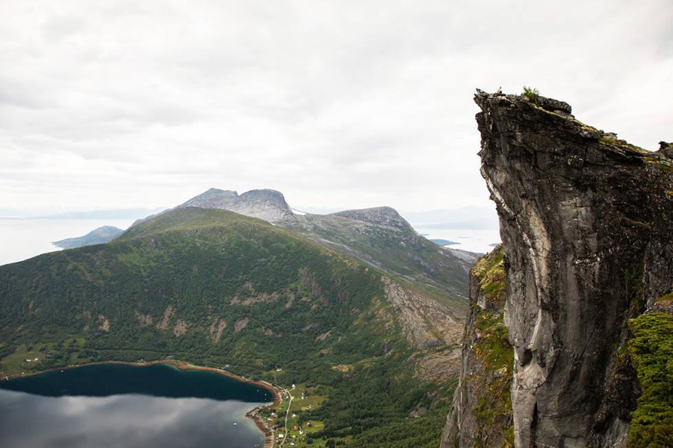 Kjerna ved Eidtinden i nordland