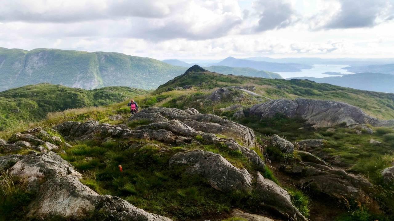 fjellturer i Bergen