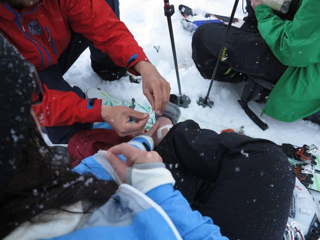 førstehjelp på tur fjellmedisin