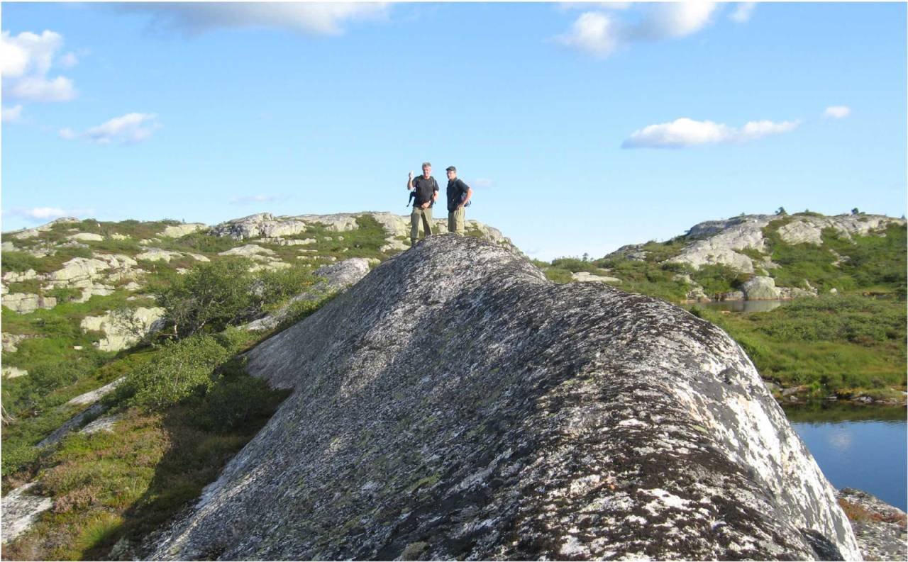 Trongedalsnuten i Gjøvdal er en karakteristisk topp i Austheiene. Foto: Arendal Turistkontor
