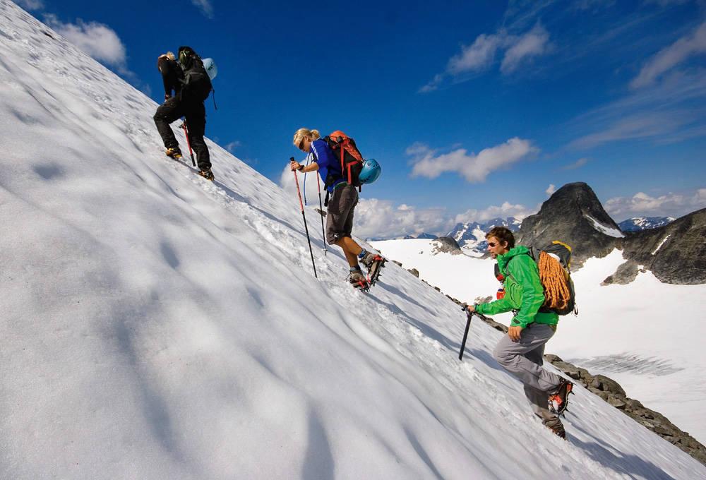 fjellturer ved Tyin og Eidsbugarden