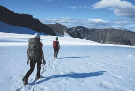 VARIERT: Jotunheimen byr på alt fra bratte fjell til fine stier i vakre daler. Foto: Ida Eri Sørbye