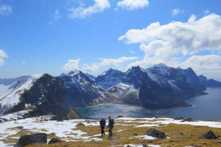 turtips fjelltur til fuglhuken i lofoten