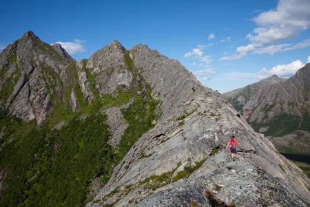 nordskottraversen steigen fjelltur