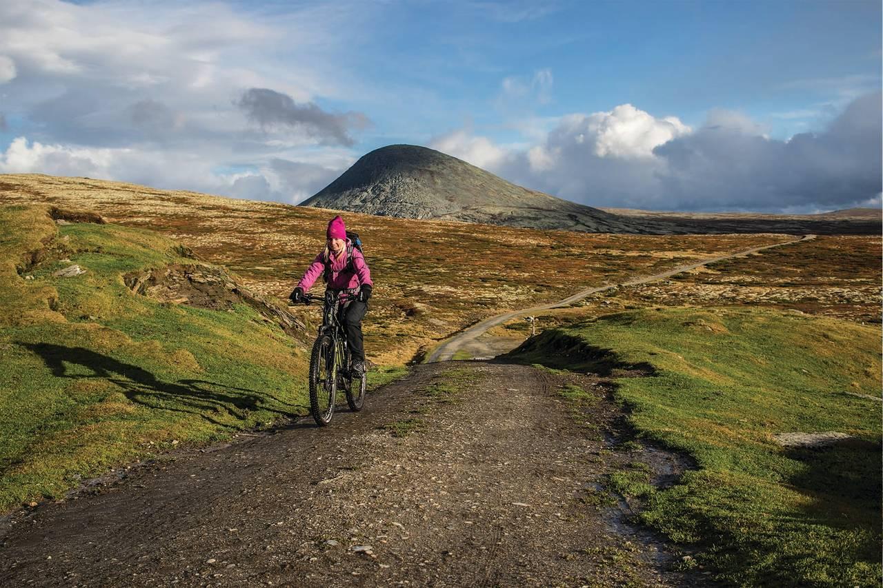 fjelltur med elsykkel jo inge manet