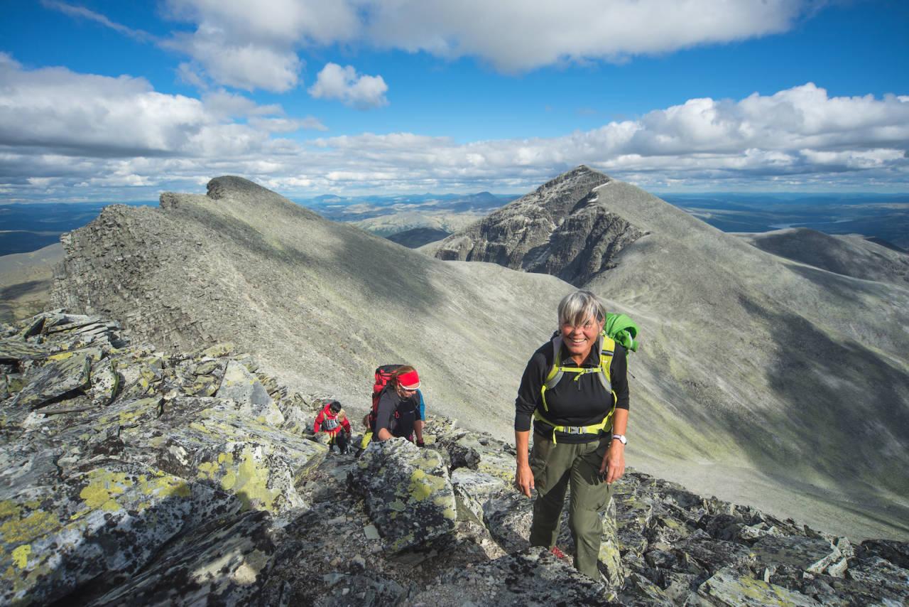 Rondane gir deg fantastisk og storslått natur, som en tur til Rondeslottet eller Veslesmeden. Foto: Kristian Fornes